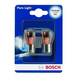 Bosch 1987301018 PURE LIGHT - PY21W Lampen Produktbild