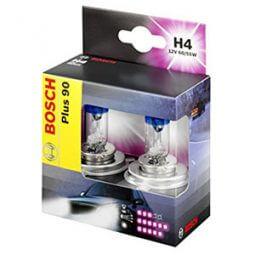 Bosch Autolampenset H4 Plus +90 - H4 Lampen Produktbild