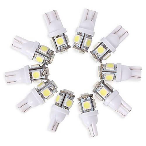 Unser Tipp: SMD LED Standlicht Lampe Birne Licht Weiß