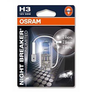Unser H3-Test Tipp: NIGHT BREAKER UNLIMITED H3 von Osram