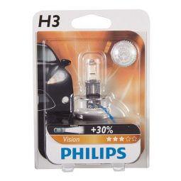 Philips Glassockellampe Vision H3 - H3 Lampen Produktbild