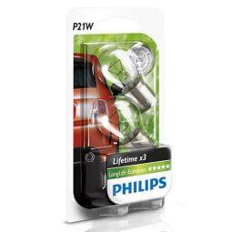 Philips LongLife EcoVision - P21W Lampen Produktbild