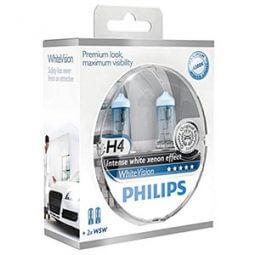 Philips WhiteVision Xenon-Effekt - H4 Lampen Produktbild